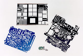 Heatsink and circuit board coating