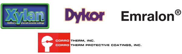 Donwell applies Xylan, Dykor, Emralon and Corro Therm Coatings